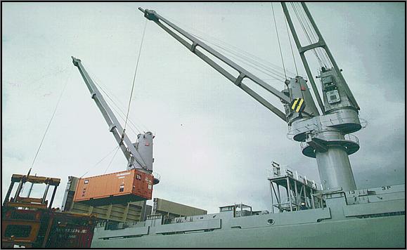 Telescopic Deck Cranes : Deck crane services vimtec singapore one stop